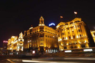 上海バンド夜景