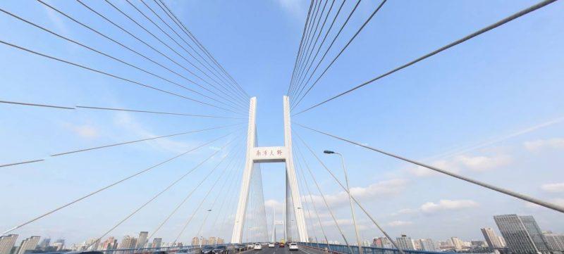 ダイナミックな橋「南浦大橋」